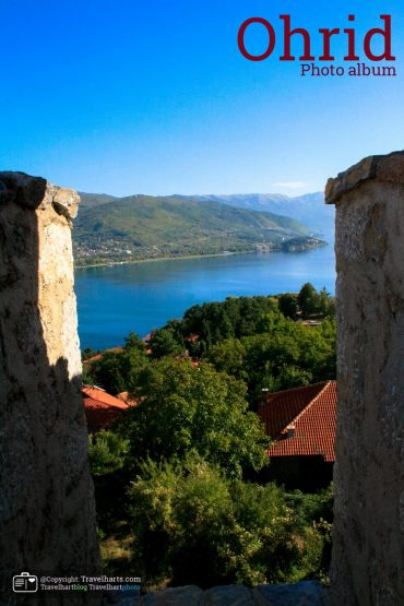 The city walls of Ohrid – Macedonia