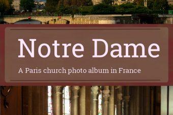 Paris, Notre Dame – France