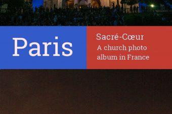 Paris, Basilique du Sacré-Cœur – France
