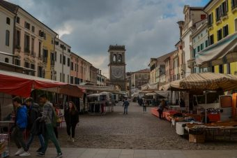 Este, a medieval city in the province Padua – Italy