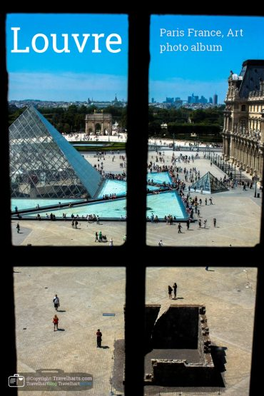 Paris, the Louvre transformation from castle to museum – France