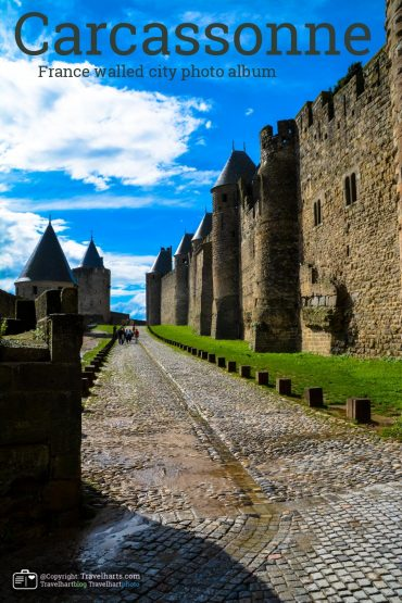 Carcassonne, medieval double walled city – France