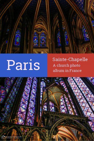 Paris, Sainte-Chapelle – France