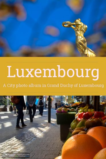Luxembourg, the city – Luxembourg