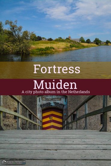 Muiden, a small fortified city
