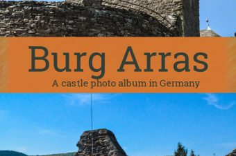 Burg Arras, near the river Moselle – Germany