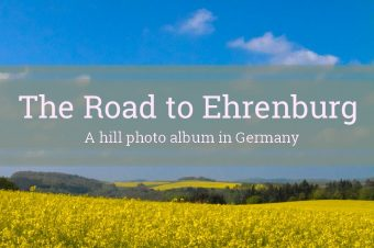 Ehrenburg, the road to the castle – Germany