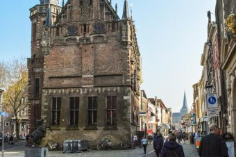 Kampen, a small city on the river IJssel- The Netherlands