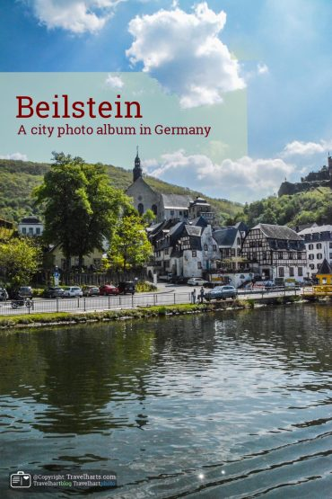 Beilstein, Altstad at the river Moselle – Germany