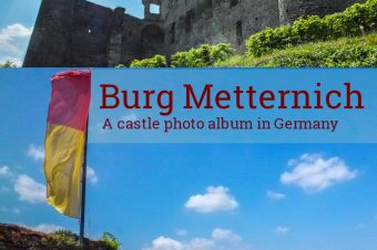 Burg Metternich, castle ruin near the river Moselle – Germany