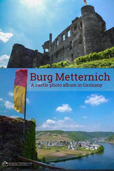 Burg Metternich, castle ruin near the river Moselle – Germany