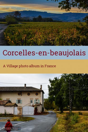 Corcelles-en-Beaujolais, A small village near Lyon – France