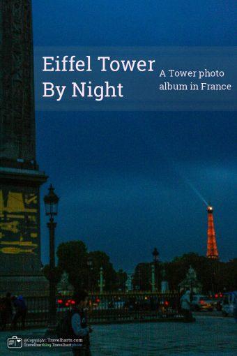 Paris, Eiffel Tower by night – France