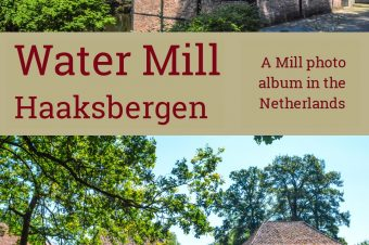 Haaksbergen, medieval water mill in the forest – The Netherlands