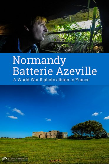 Normandy, Batterie Azeville – France