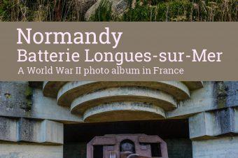 Normandy, Batterie Longues-sur-Mer – France