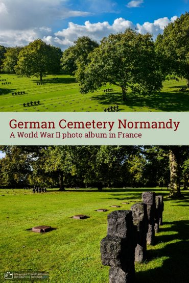 Normandy, German War Cemetery – France