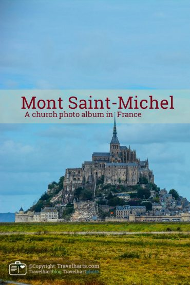 Normandy,  churches of Mont Saint-Michel – France