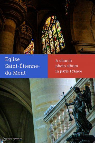 Paris, Église Saint-Étienne-du-Mont – France