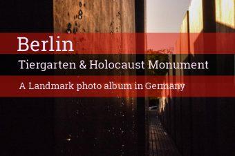 Berlin, Tiergarten & Holocaust monument – Germany