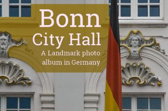 Bonn, City Hall of this former capital city – Germany