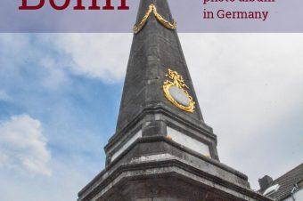 Bonn – Marktplatz near the City Hall – Germany