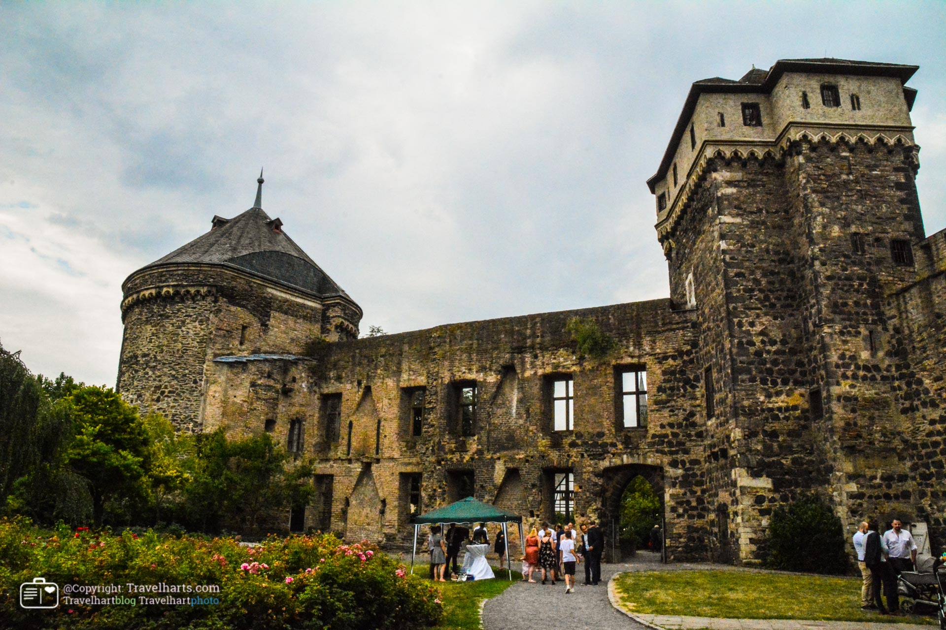 Andernach Stadtburg, Jewel of the city until the 9 year war – Germany