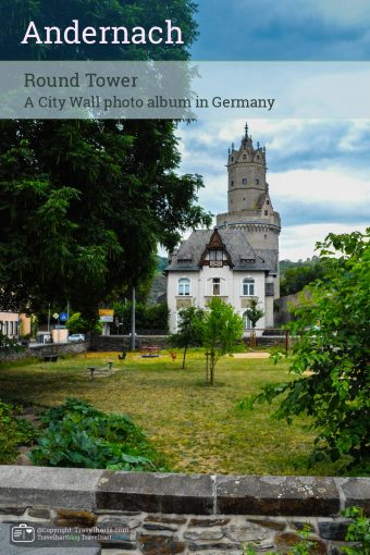 Andernach's City Walls, Round Tower – Germany