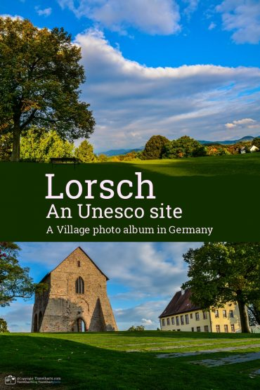 Lorsch, an Unesco site village – Germany