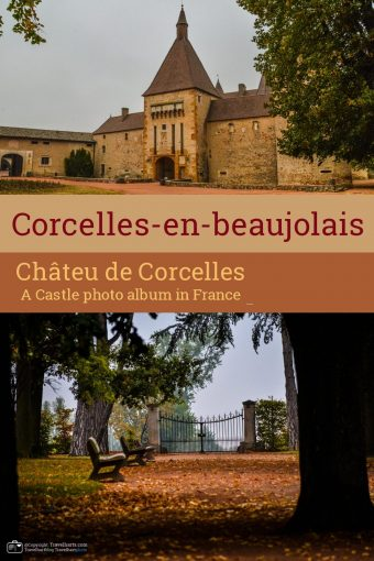 Corcelles-en-Beaujolais,  Corcelles Castle  – France